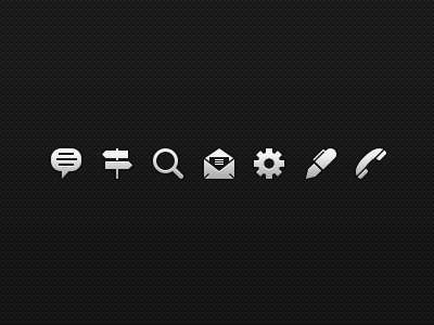 Symbolicons - Free Sampler pixel-perfect symbolicons ui ios iphone icons symbols pixel vector