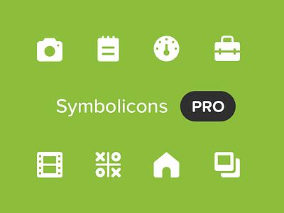 Symbolicons Pro: Kickstarter vector kickstarter symbolicons icons