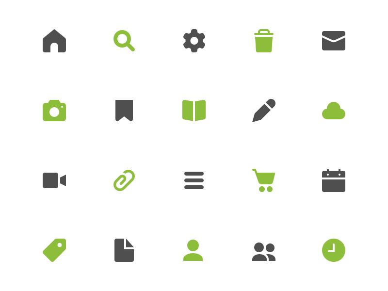 Symbolicons Pro: Basic UI ui vector kickstarter symbolicons icons