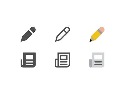 Symbolicons Pro Stretch Goal #2 symbols flat color line glyph solid kickstarter icon symbolicons