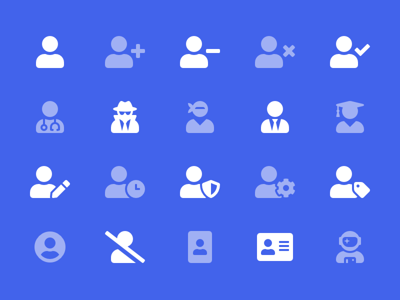 Users Category graduate ninja astronaut icons font awesome users