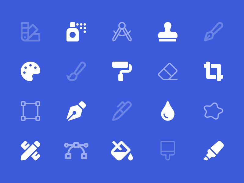Design 4x3 blue
