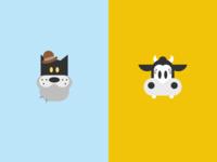 Cat + Cow