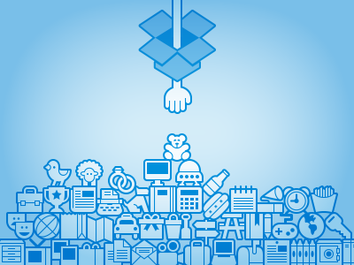 Store Everything. dropbox symbolicons rebound