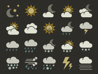 Symbolicons: Weather