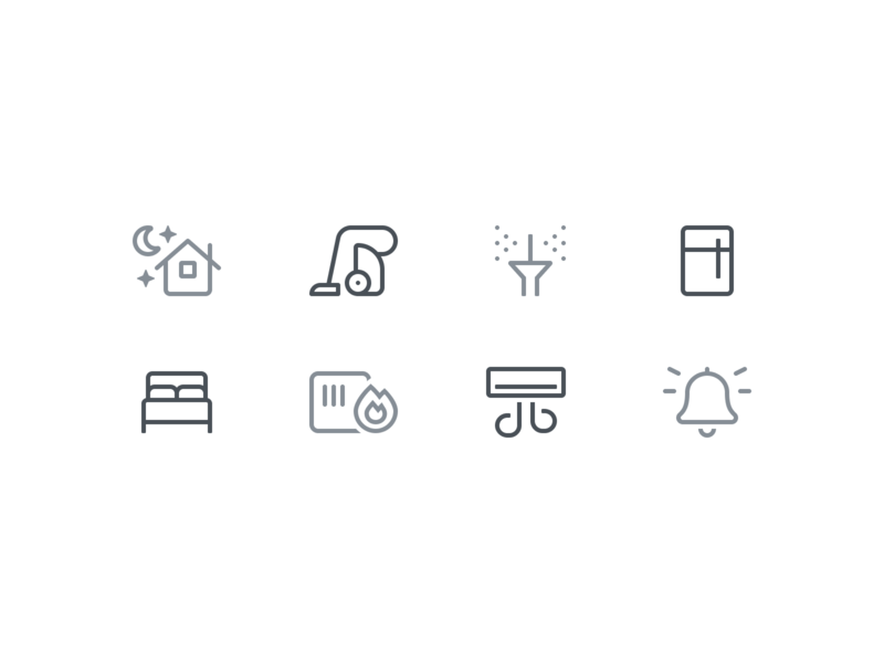 Household Icons smart home household symbols icons icon