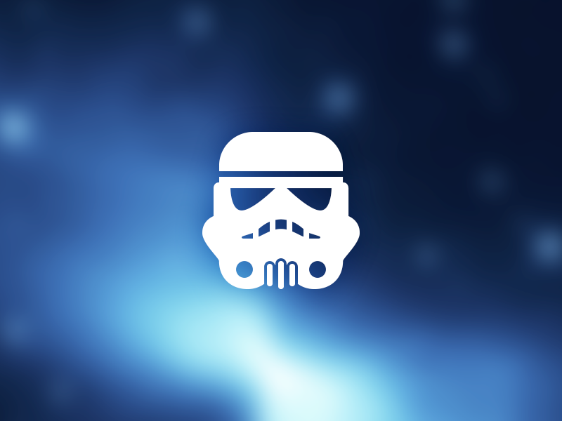Stormtrooper Icon stormtrooper star wars vector icon symbolicons