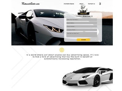 Lambo ADS ux ui branding design