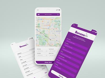 App UI Design (Benzeem App)