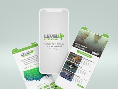 Mobile UI (Sports App) mobile ui ui design creative design uiux uidesign