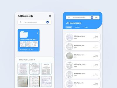Scanner App Design   Homepage Concept app ui app design ui design uiux creative design uidesign graphic design