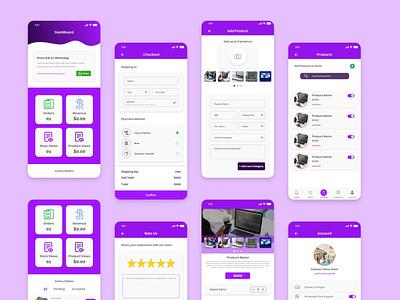 Mobile App Design   Store App app design mobile app ui design creative design uiux uidesign