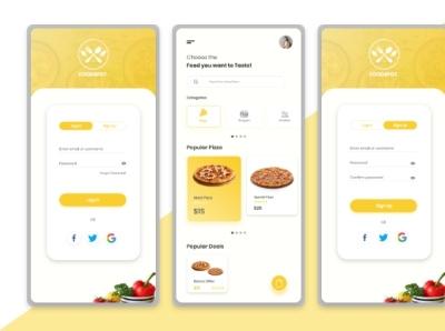 Mobile App Design  UI Kit mobileui mobileapp appui uiux creative design uidesign graphic design ui