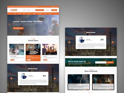 Website Homepage   UI Design graphic design ui creative design web ui webhomepage webdesign uidesign uiux