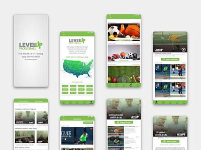 Mobile App UI Design   Training App ux appdesign appui design ui creative design uiux uidesign