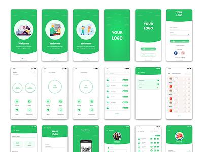 App UI Design   Multi-Service Mobile App mobile uxdesign appdesign appui design ui uiux creative design uidesign