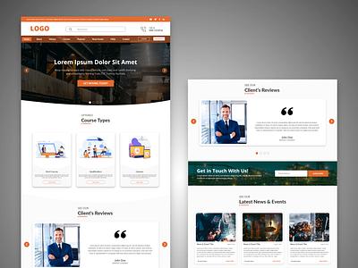 Website Homepage   UI Design webuiux webhomedesign web ui webdesign design ui creative design uiux uidesign