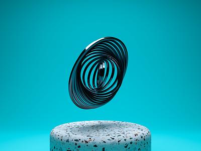 Rings blender3d blender 3dscene 3dart 3d