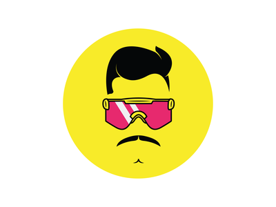 Logo - Peer Support Sam portrait minimalist logo twitch logo twitch.tv twitch icon logo branding illustration vector design