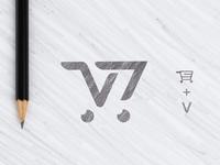 V Store Logo Presentation