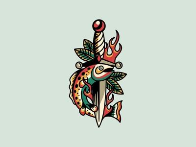 Dagger & Fish