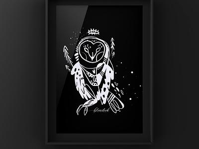 Spirit animal 2, owl book illustration illustration art illustration
