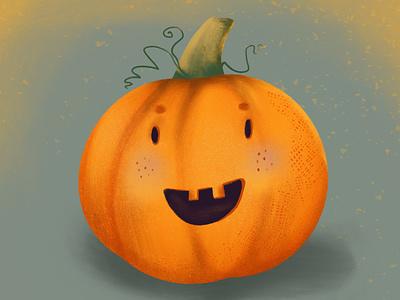 Just happy pumpkin 🎃 kids illustration art book illustration illustration