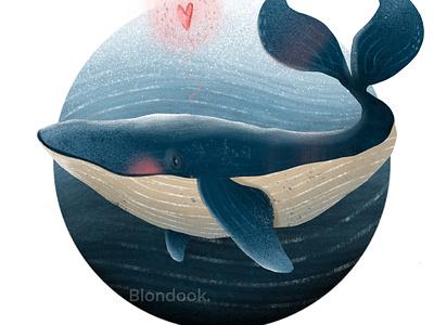 Whale kids book illustration illustration art illustration