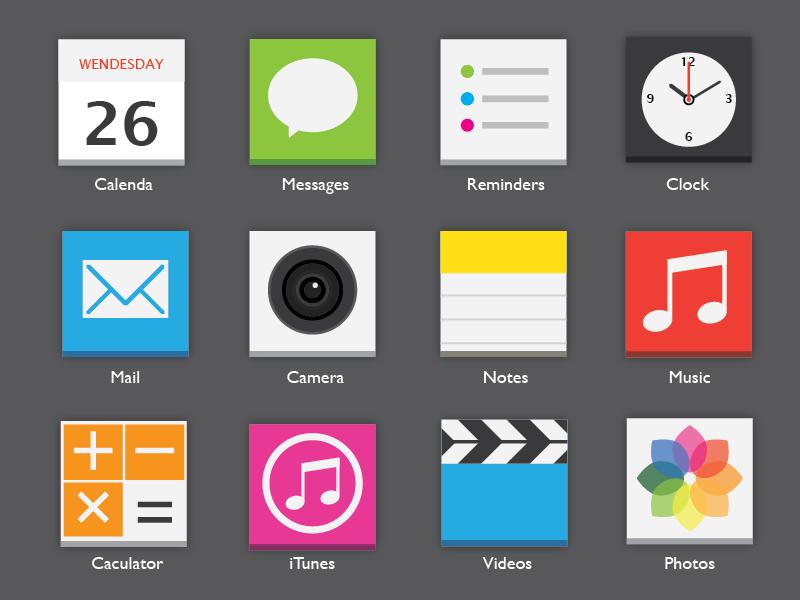 iOS7 App icons icon