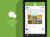 WeChat App iOS7 Redesign #2