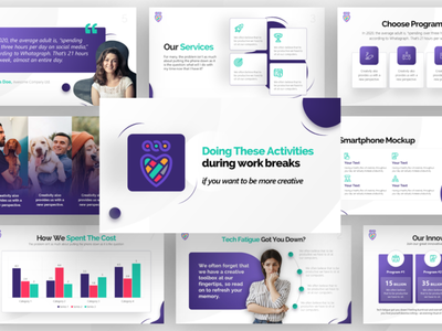 Social Media Platform Company - Pitch Deck Design ppt creative ui pitch deck presentation template presentation layout powerpoint template presentation design powerpoint creative presentation business