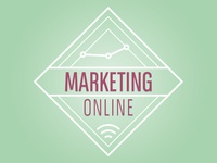 Logo Hipster Marketing Online