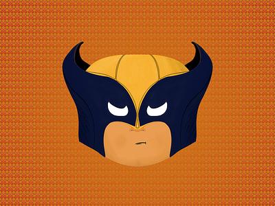 Wolverine texture mascot lovely cartoon drawn whiteeyes artwork logan hero xxx xman marvel draw texturebrush ps drawing illustrator