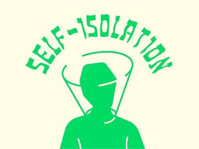 Self-Isolation isolation self covid19 virus corona graphic design