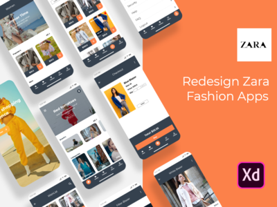Redesign Zara - Fashion Apps