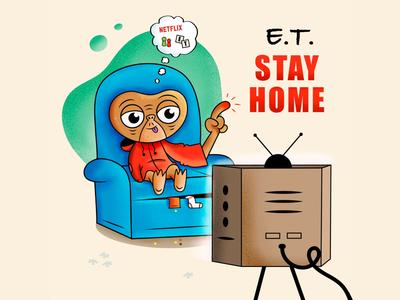 E.T. stays Home