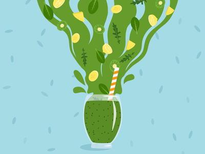 Smoothie illustration