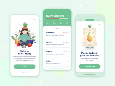 Healthy meal app