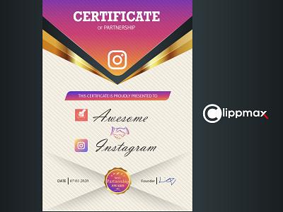 client certificate certificates logo design branding adobe photoshop advertising logo banner certificate client certificate