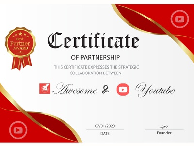certificate1 banner design logo design advertising banner adobe banner ad branding logos adobe illustrator certificate template certificate design certificate