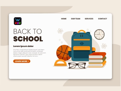 Ready web template