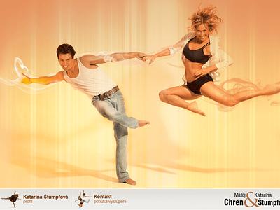 MK Dance adobe photoshop php web design microsites