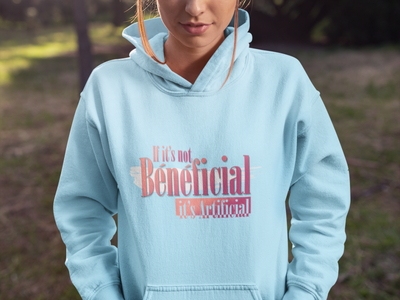 If it's not Beneficial it's Artificial text design tshirt illustration typography graphicdesign stylish logo design
