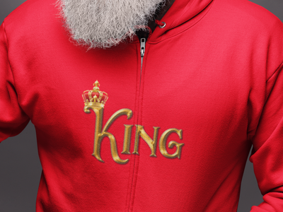 King Logo Design tshirt illustration typography graphicdesign stylish logo design
