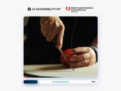 Accessibility and Design | Adobe XD | ACR Community Fund user interface adobe xd google wcag inclusive design inclusive accessibility design ux ui ux uiux ui design behance adobe adoberesidency adobexd ui