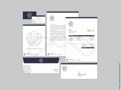 PT. BETARA TIRTA Logo & Stationery Design