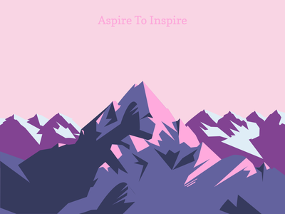 Mountains mountains открытка горы winter illustration рисунок