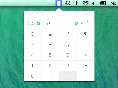 Calculatron calculator calc flat mavericks icons numbers