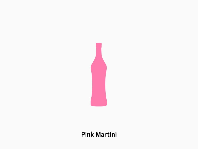 Pink Martini pink martini soledad bottle artist icon