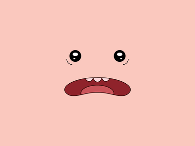 Phil illustration cartoon adventure time design eyes mouth character droop